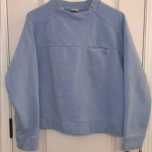 Nike Women's Pocket Sweatshirt Baby Blue Sz Large